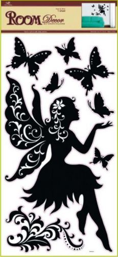 Anděl Přerov Room Decor černá víla sedící