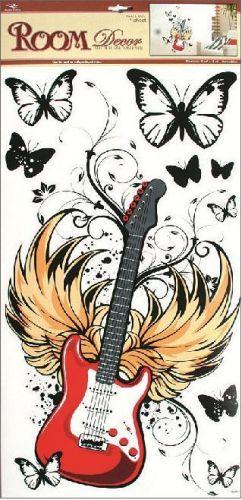 Anděl Přerov Room Decor červená kytara