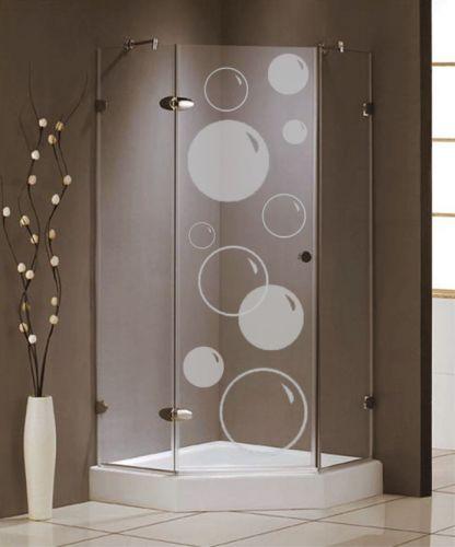 Shopnisi Samolepka na sprchový kout Bubliny