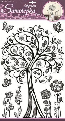 Anděl Přerov Samolepka plastický strom
