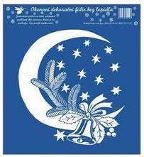 Anděl Přerov Okenní fólie Měsíc s větvičkou