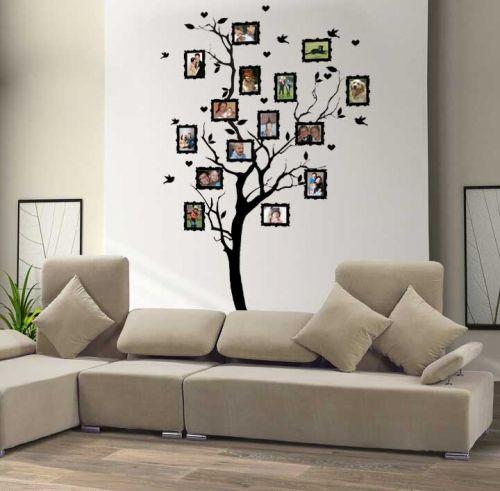 Shopnisi Samolepka na zeď Strom na rodokmen