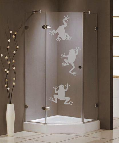 Shopnisi Samolepka na sprchový kout Žáby