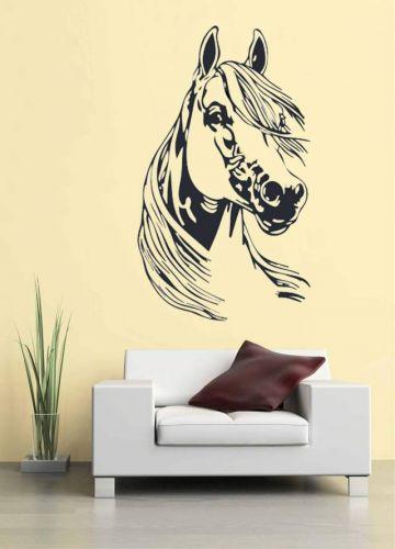 Shopnisi Samolepka na zeď Hlava koně