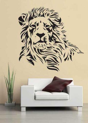 Shopnisi Samolepka na zeď Lev hlava