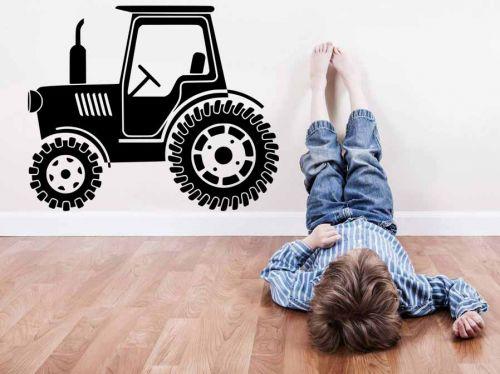 Shopnisi Samolepka na zeď Traktor