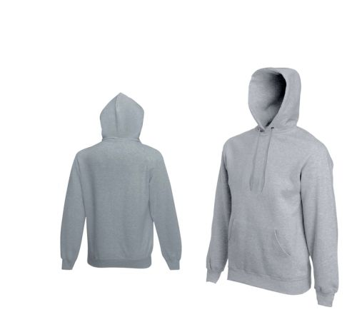 Fruit Of The Loom HOODED SWEAT mikina