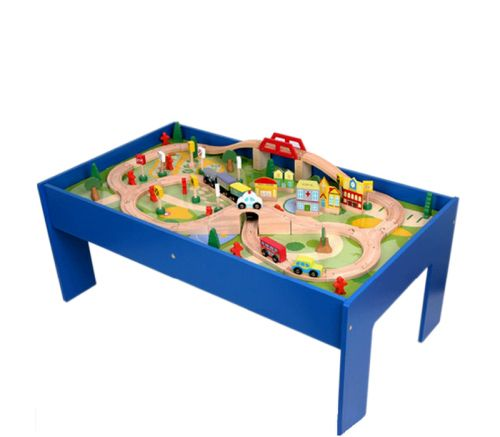 Aga4Kids TABLE TRAIN SET 80