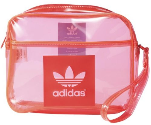 Adidas Airliner Clutch Transparent lush taška