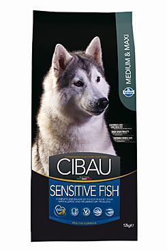 Farmina CIBAU Dog Adult Sensitive Fish&Rice 2,5 kg cena od 315 Kč