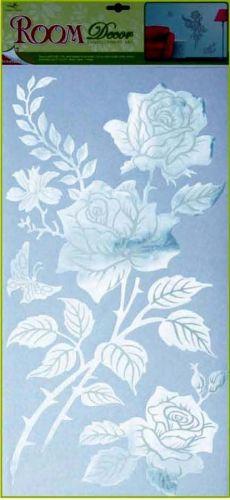 Anděl Přerov Samolepka Room Decor růže zrcadlové 60x30 cm