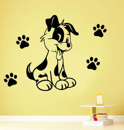 Shopnisi Samolepka na zeď Pejsek štěně