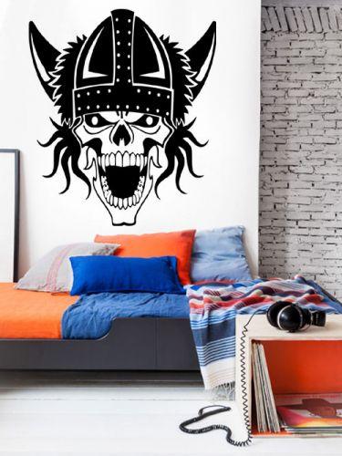 Shopnisi Samolepka na zeď Lebka viking
