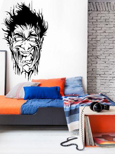 Shopnisi Samolepka na zeď Hlava zombie