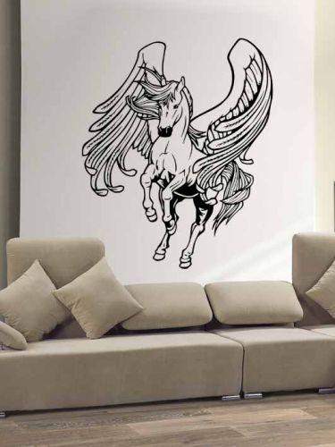 Shopnisi Samolepka na zeď Létající kůň
