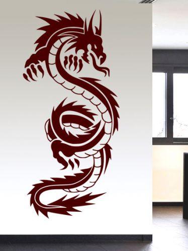 Shopnisi Samolepka na zeď Čínský drak