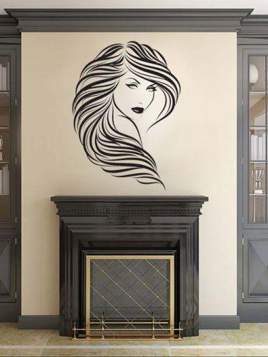Shopnisi Samolepka na zeď Krásná žena