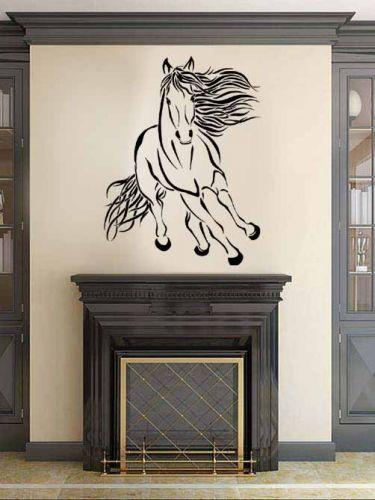 Shopnisi Samolepka na zeď Běžící kůň