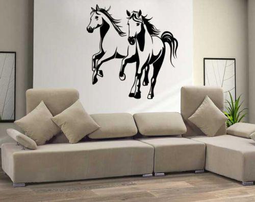 Shopnisi Samolepka na zeď Běžící koně