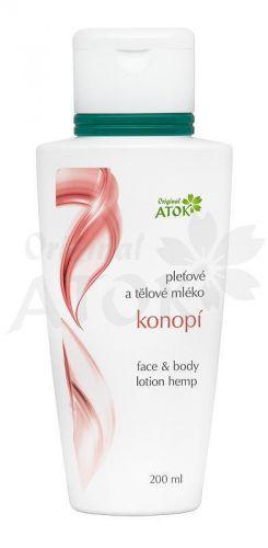 Atok Pleťové a tělové mléko Konopí 200 ml