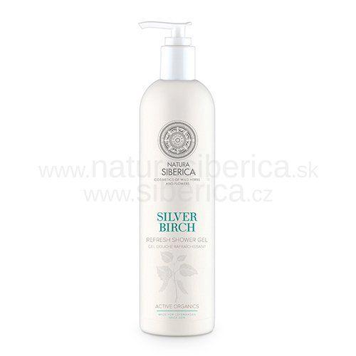 Natura Siberica Sprchový gel obnovující Silver Birch 400 ml