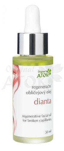 Atok Regenerační obličejový olej Dianta 30 ml