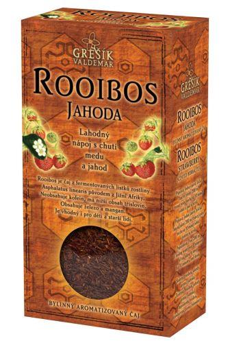Grešík Rooibos Jahoda 70 g cena od 61 Kč