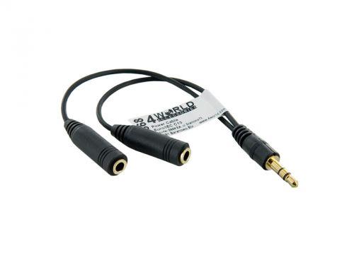 MUSICDATA 4World Adaptér audio 1x3,5 mm / 2x3,5 mm
