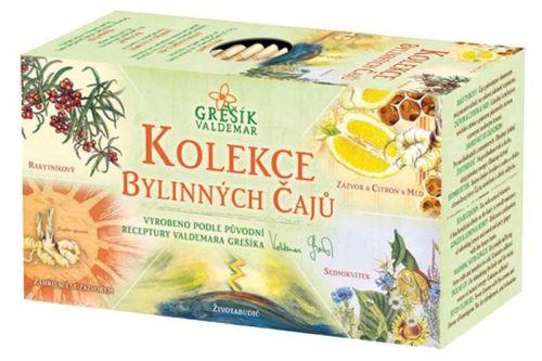 Grešík Kolekce Bylinných čajů 32 g cena od 55 Kč