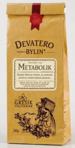 Grešík Čaj Metabolik 50 g cena od 49 Kč