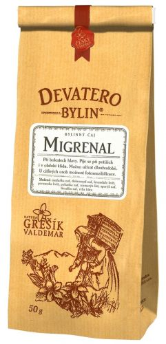 Grešík Čaj Migneral 50 g cena od 49 Kč