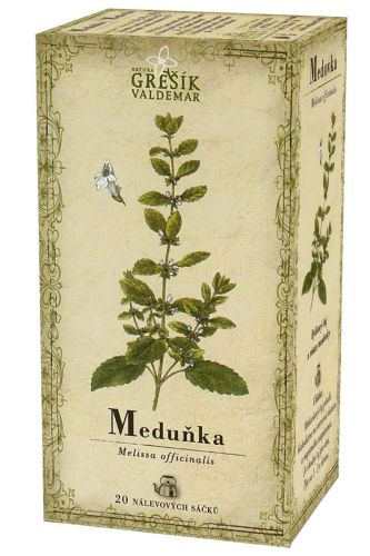 Grešík Čaj Meduňka 20x1 g cena od 25 Kč