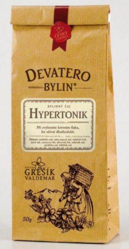 Grešík Čaj Hypertonik 50 g cena od 42 Kč