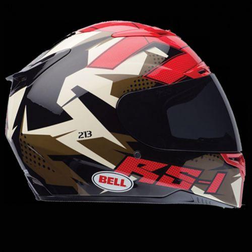 Bell RS1 Topo Snow Camo helma