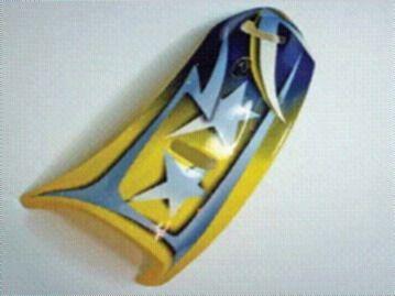 Arai Difusery typ-8, Edwards GP Yellow pro přilby Arai RX-7 CORSAIR