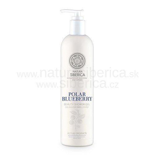 Natura Siberica Sprchový gel omazující Polar Blueberry 400 ml