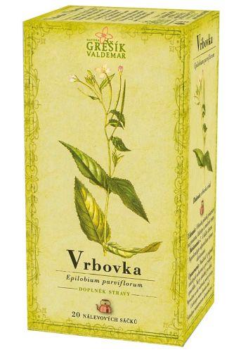 Grešík Čaj Vrbovka 20x1,5 g cena od 32 Kč