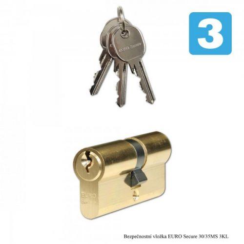 Richter Bezpečnostní vložka EURO Secure 30/35 MS