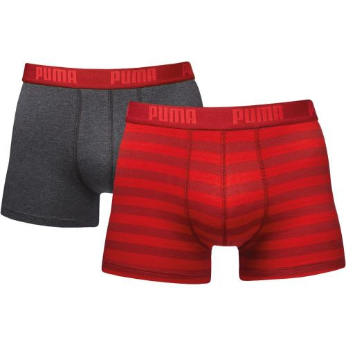 Puma Striped Red Long boxerky