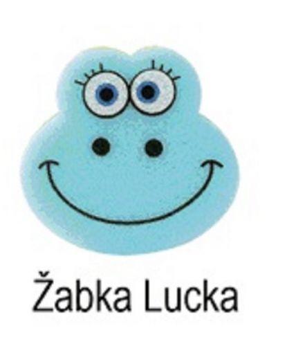 OSMOST Veselé houbičky Žabka Lucka