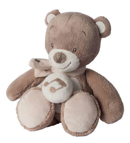 NATTOU hudební medvídek Tom 24 cm