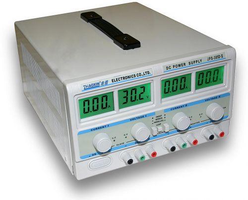 ZHAOXIN JPS-305D-II - 2x30V/5A, 60V/5A, 30V/10A