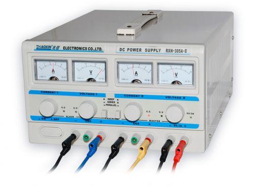 ZHAOXIN RXN-305A-II - 2x30V/5A, 60V/5A, 30V/10A