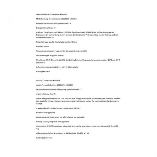Klarstein CO2-KS50-A cena od 3799 Kč