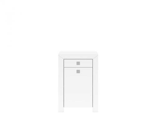 Black Red White MEZO II KOM1D1SL/9/6 skříňka