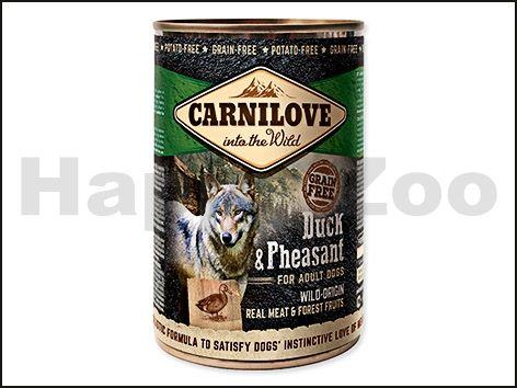 CARNILOVE Konzerva Duck & Pheasant for Adult Dogs 400 g