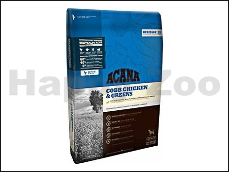 ACANA Heritage Cobb Chicken and Greens 11,4 kg