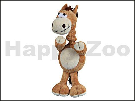 TRIXIE řechtající kůň s natahovacím krkem 30 cm