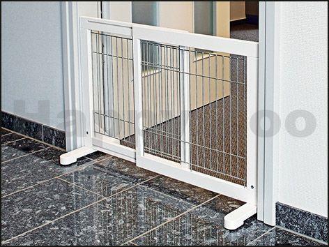 TRIXIE Posuvná dveřní zábrana 65-108x61x31 cm