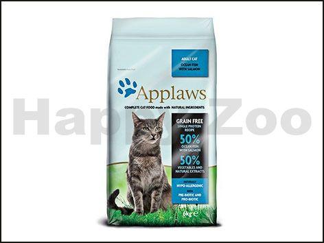 APPLAWS Cat Ocean Fish & Salmon 6 kg